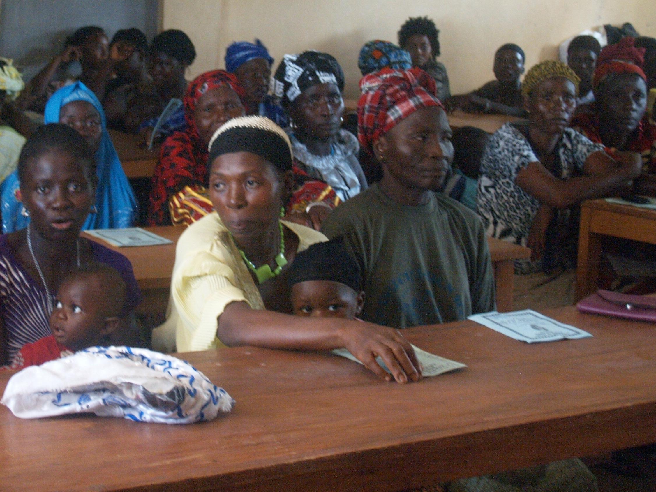 alfabetización mujeres Sierra Leona